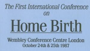 1stInternationalConference HomeBirthLogo