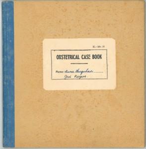 Gail Farquhar Case Book, 1960-1963 (WWAT 2015/1-2